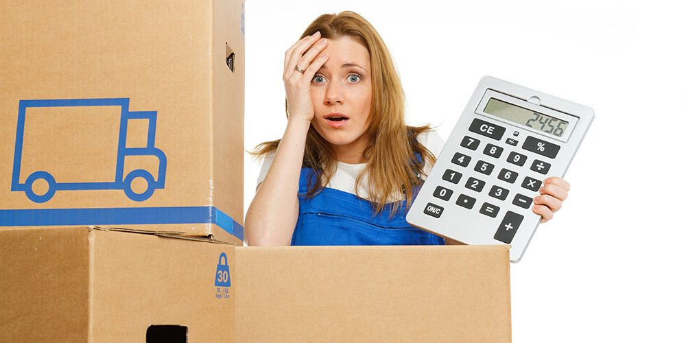Average cost moving company 1 bedroom apartment for Cost to move one bedroom apartment