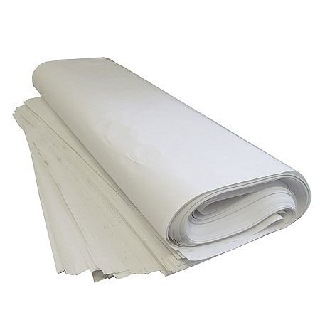 white newsprint