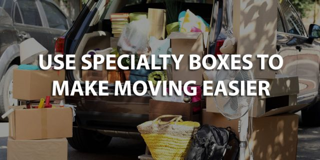 Different Types of Specialty Moving and Packing Boxes Available