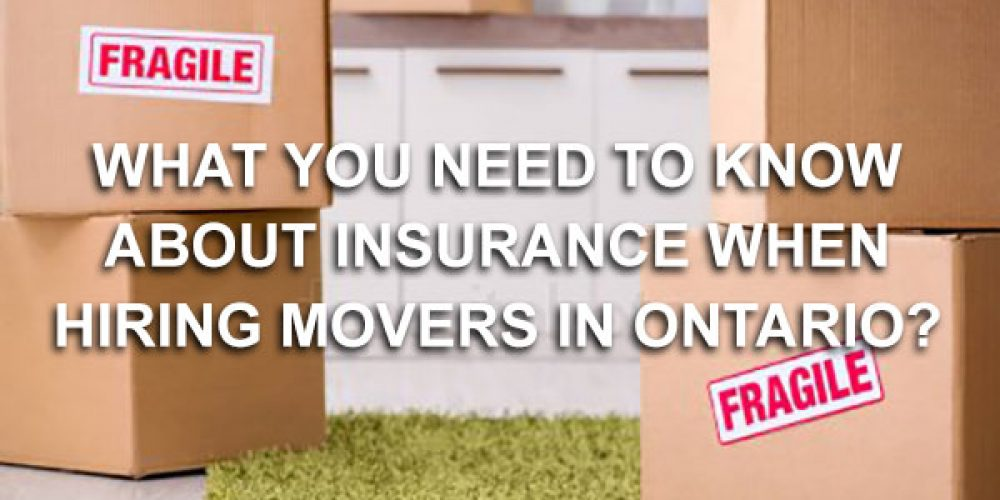 What is the Required Insurance for Moving Companies in Ontario