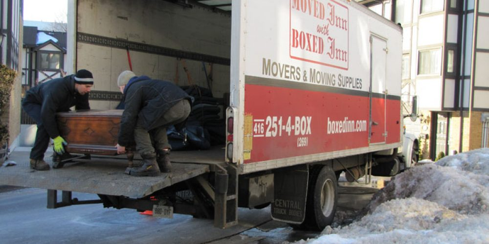 Winter Moving Tips in the GTA